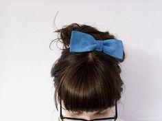 summer hair, blue hair, dolly parton, hairstyl, hair bows, something blue, brown hair, blues, bang