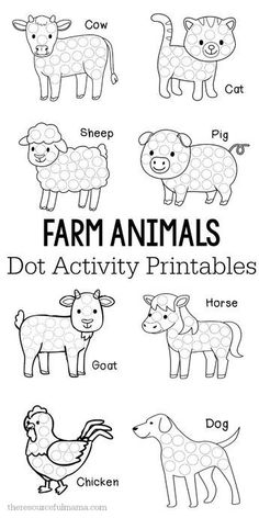 These farm animals d