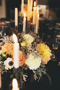 Halloween dinner party,  Photography: Rebecca Hansen Weddings, Floral Design: Forêt Design, Design + Styling: Style Me Pretty