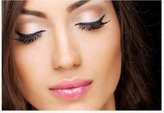 Beautiful nude shimmery eye.  Colors used: eyes-irresistable lips-sexy. #eyemakeup #nudeeye #eyemakeuptip