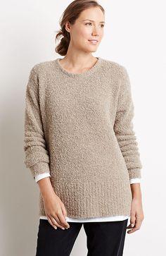 Pure Jill plush pullover