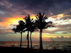 Fort Lauderdale beach summer sunrise