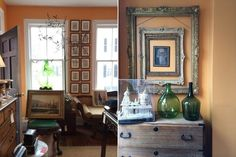 2 fresh framing ideas from John Pope Antiques in Charleston, South Carolina   Lonny