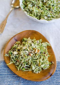 Broccoli Slaw with Almonds