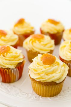 Calamondin Cupcakes - This is a totally new flavor that I've never heard of before and something unique to Florida... I believe!