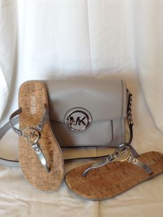 Michael Kors sandals and purse