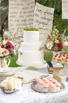 Pretty dessert table decor wedding, shower ideas, spring weddings, wedding showers, wedding desserts, wedding dessert tables, altars, cake tables, diy wedding