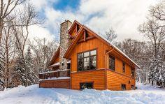 Mont Tremblant Chalet Rental: Luxury Cottage For 12, Ski Mont Blanc And Ski Tremblant   HomeAway