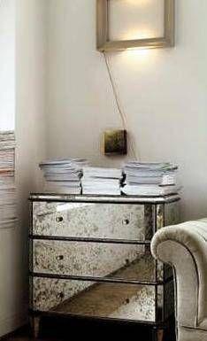 Mirrored Furniture DIY