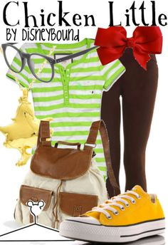 Chicken Little Disney outfit!! Gotta save this one for halloween!