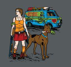 scooby snacks, tee shirts, zombie apocalypse, velma, t shirts, geek chic, scoobi doo, zombies, post apocalyptic