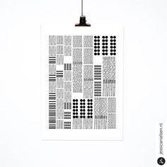 'dots' fine art digital print, jessica nielsen