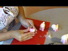 Porcelana fria paso a paso: Ovejita (2de2)