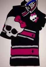 Monster High Hat Gloves And Scarf Set NEW
