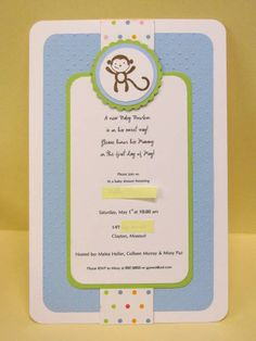 Stampin Up invitation