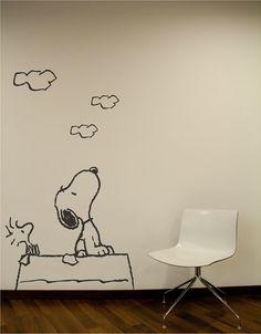 Snoopy wall decor