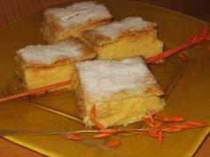 images of food recipes | Serbian vanilla slice (Krempita) recipe | Serbian CookBook