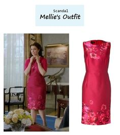"On the blog: Mellie's (Bellamy Young) silk floral print sheath dress | Scandal - ""Kiss Kiss Bang Bang"" (Ep. 314) #tvstyle #tvfashion #outfits #fashion #flotus"