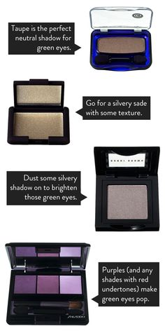 The Best Eye Makeup Shades For Green Eyes | lovelyish