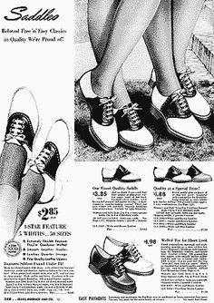 Saddle shoes :]