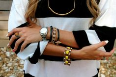 We love all these gorjana goodies on Style by Lolly