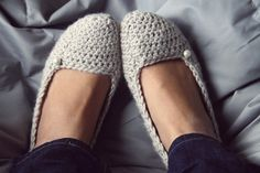 #crochet #slippers