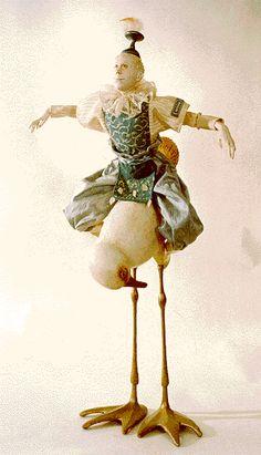 art doll from marlaine verhelst