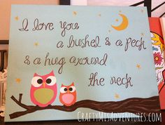 I Love you a bushel & a peck & a hug around the neck. ~NEAT