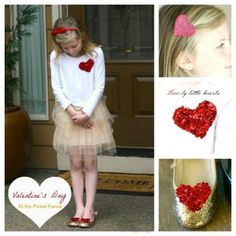 Valentines Day Outfit Accessories {Valentines DIY}