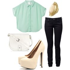 Mint Julep, created by saratoeppler on Polyvore