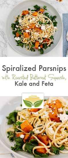 Spiralized Parsnips