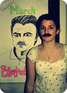 mustach parti