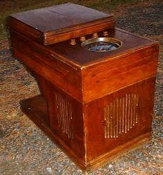 Zenith 1937 6S203 Chairside Radio Phonograph