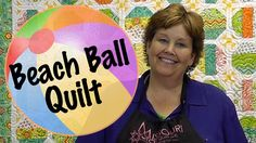 So great!!! The Beach Ball Quilt- Easy Quilting With Jelly Rolls!