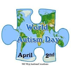 World Autism Day, Generation Rescue, January DPM Charity autism awareness, awar month, autism hope, autism speak, autism stuff, autism enlighten