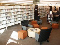 Teen Area at Josey Ranch Lake Library - Carrollton, Texas