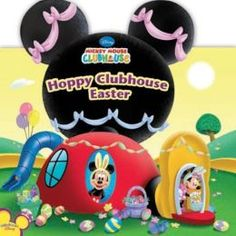 Hoppy Clubhouse Easter. TODDLER DISNEY.