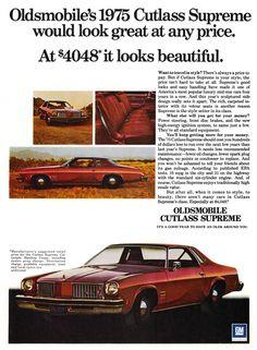 1975 - Oldsmobile Cutlass Supreme - GM
