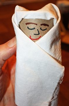 This Toilet Paper Roll Jesus is a great craft project to make for any religious holiday including Christmas and Easter.