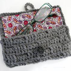 Crochet Eyglasses Case tutorial ~Teresa Restegui~