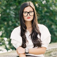 Makeup Tips For Girls Who Wear Glasses   The Zoe Report