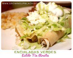 Enchiladas Verdes: Estilo Tia Rosita