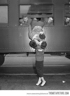 A Kiss Goodbye…