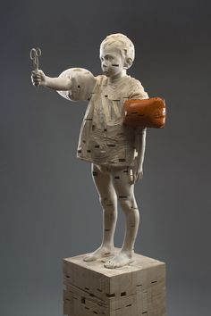 DEMETZ Gehard Wood Sculpture