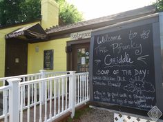 If you've not been... Go! The Pfunky Griddle in Nashville, Tennessee has lots of gluten free choices too.
