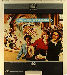 silver streak, gene wilder, stir crazi, laserdisc cover