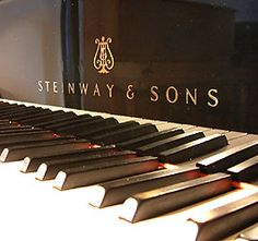 Steinway & Sons piano :)