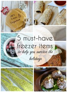 5 must have freezer