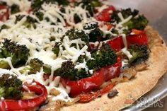Receita de Pizza de brócolis - Comida e Receitas