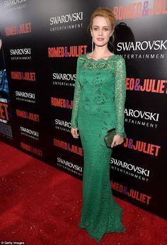 Nathalie Rapti Gomez + gown